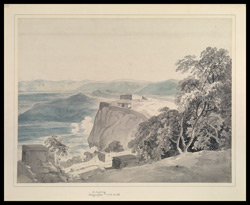 View of Sankaridrug. 25 May 1792